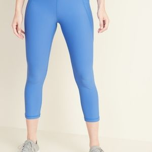 Old Navy Active Fitted Crop Leggings
